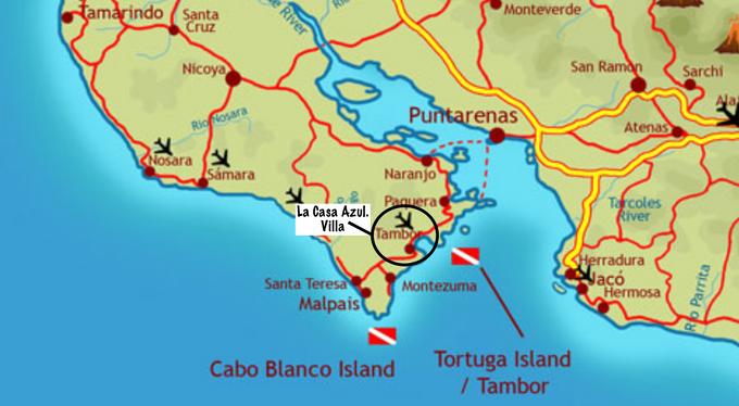 Playa Tambor Costa Rica -Villa Rentals