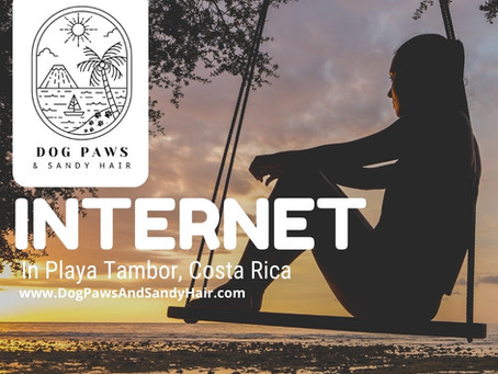 What To Expect With Internet In Tambor Costa Rica.