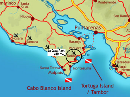 Exciting Scuba / Snorkle Location in Costa Rica -Tortuga Island.