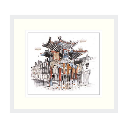 Chinatown, Liverpool - Original Painting (Prints Available)