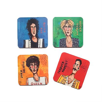 Queen Coasters