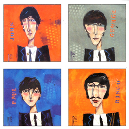 The Beatles Square