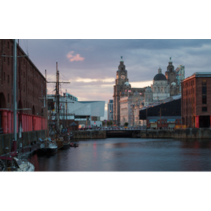 The Albert Dock and Pier Head, Liverpool
