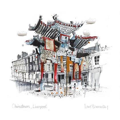 Chinatown Liverpool, Original Painting