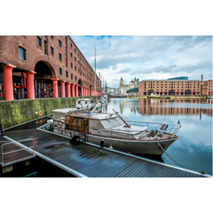 Albert Dock, Three Graces View #1