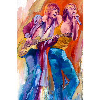 Mick and Ronnie, Rolling Stones