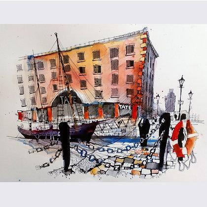 Albert Dock, Original Painting