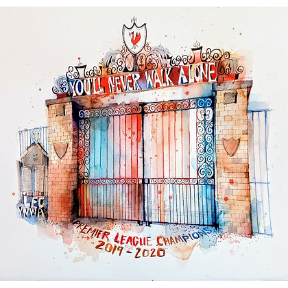Shankly Gates, Original Painting