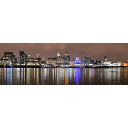 Liverpool Reflections - Also available on Aluminium