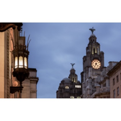 India & Liver Building, Liverpool