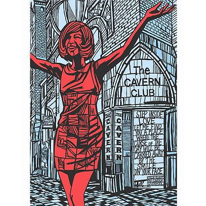 Cilla at Mathew Street