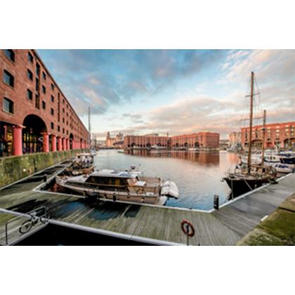 Albert Dock, Three Graces View #2