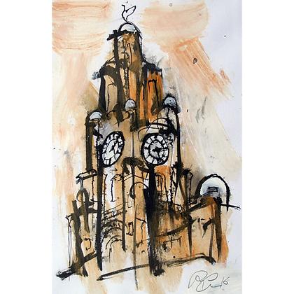Liver Building Clocktower