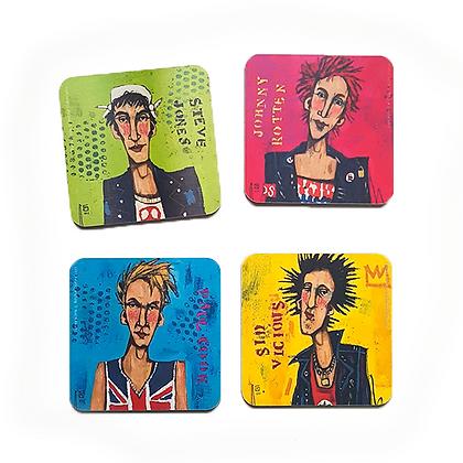 Sex Pistols Coasters