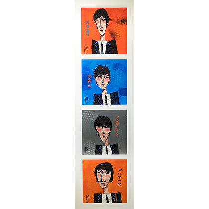 The Beatles, Vertical
