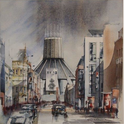 Catholic Cathedral Hope Street, Original Painting