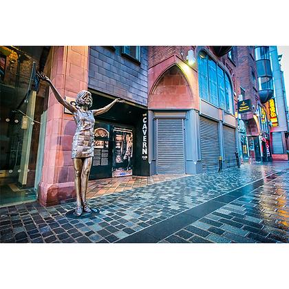 Cilla Black Statue, Matthew Street