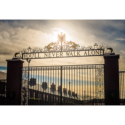 Shankly Gates, Anfield Road, Liverpool