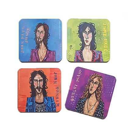 Led Zeppelin Coasters