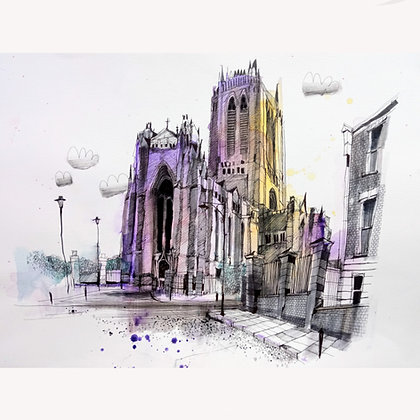 Anglican Cathedral, Original Painting