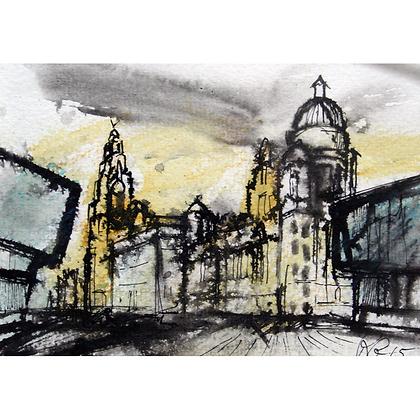 Waterfront Buildings, Liverpool