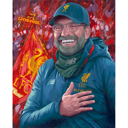 Jurgen Klopp,Original Painting (Prints Available)