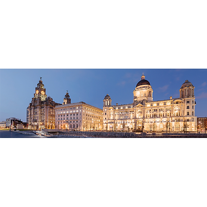 Three Graces By Night - Also available on Aluminium