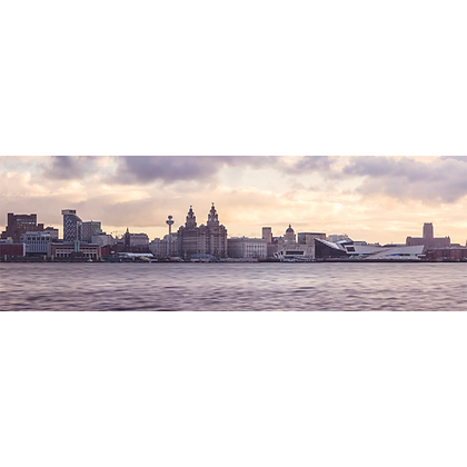 Early Morning Liverpool - Also available on Aluminium