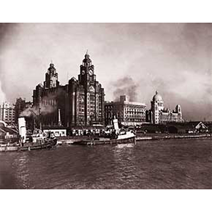 Liverpool Waterfront, 1947