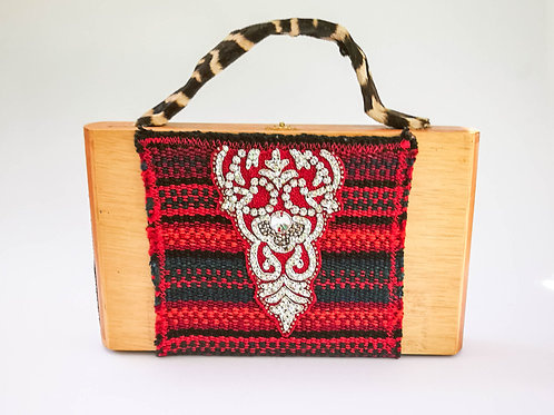 Havana Lady - Wooden Box Purse