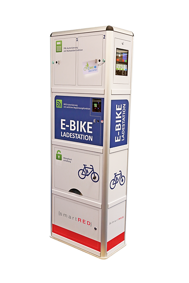 smartRED | Charging stations for e-bikes