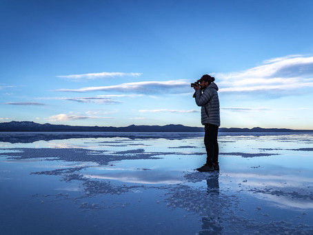 Walking in Heaven – My Experience from Salar de Uyuni