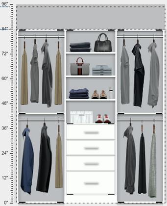 Closet Option B