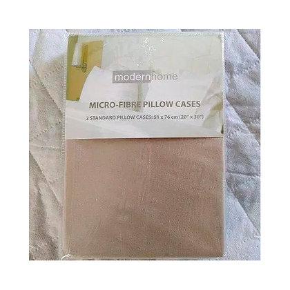 MICROFIBRE PILLOW CASE 2 PIECES