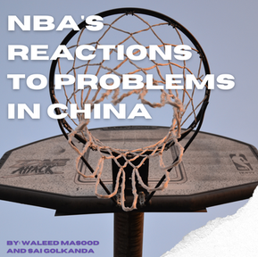 NBA's Reaction to Problems in China