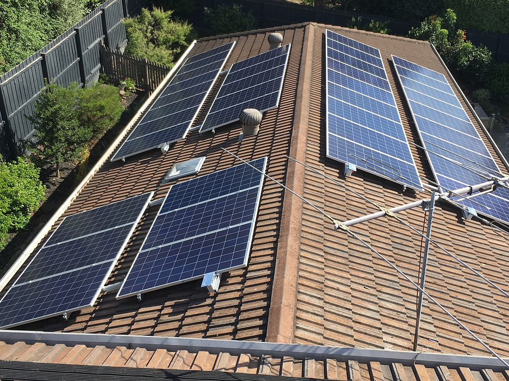 37 Solar panels with 2 inverters reducing the power bill to $0
