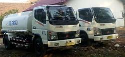 Truk pengangkutan bbm industri (HSD)
