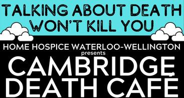 First Canadian Death Cafe Cambridge