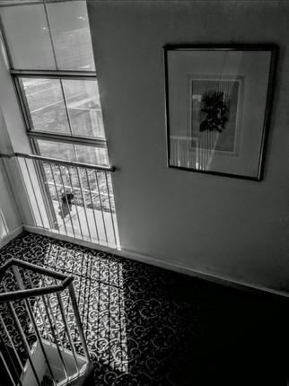 Light comes in -  by Glen Burkholder