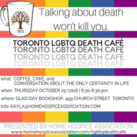 First Canada LBGTQ Death Cafa