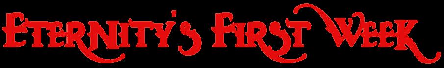 EFW Title Script Redwood Font dark red.p