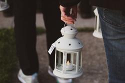 Lanterns begin to guide us