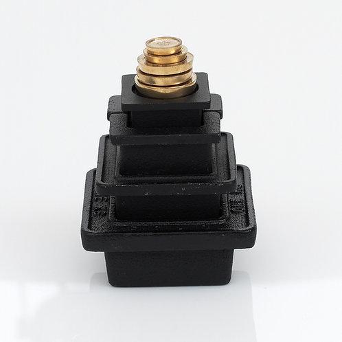 RW360 Robert Welch Metric Weights Black & Brass