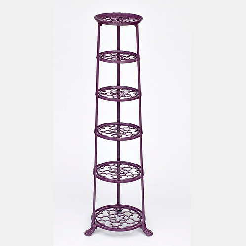 D1620BYF 6 Tier Pan Stand Berry