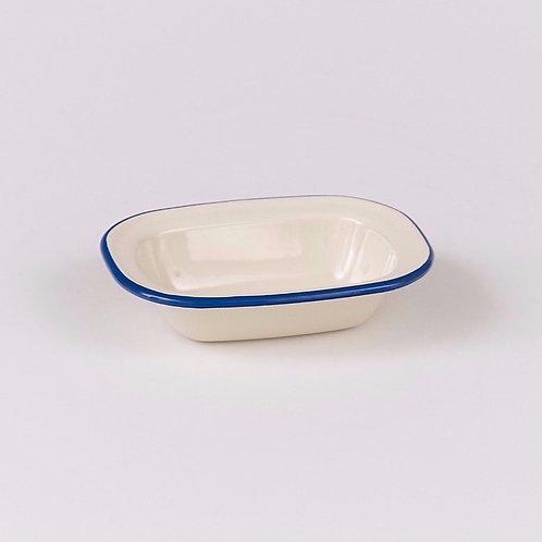 EN232BL Oblong Pie Dish 20cm