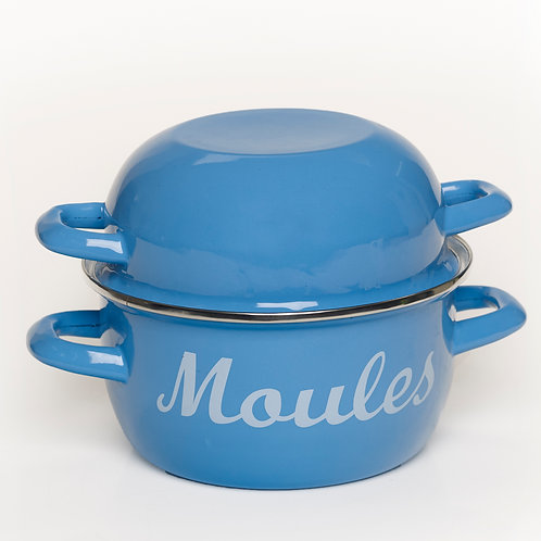 EN270PB Mussel Pot Pale Blue