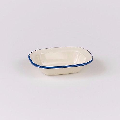 EN230BL Oblong Pie Dish 16cm