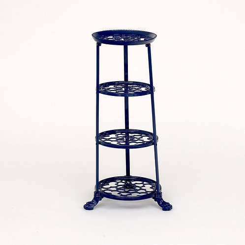 D1630BLF 4 Tier Pan Stand Blue