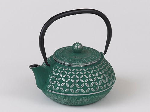 CWE100 Cast Iron Tea Pot Jade 1.0 ltrs