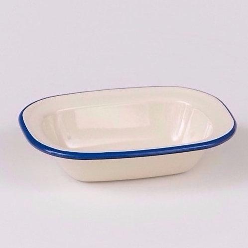EN240BL Oblong Pie Dish 28cm